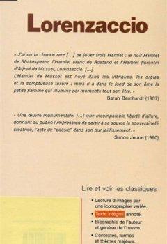 Livres Couvertures de Classiques Bordas : Lorenzaccio