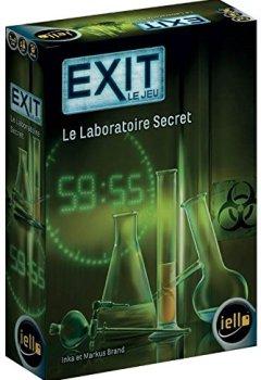 Livres Couvertures de Exit Le Jeu - Le Laboratoire Secret