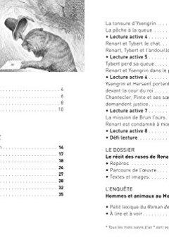 Livres Couvertures de Le Roman de Renart: nouveau programme