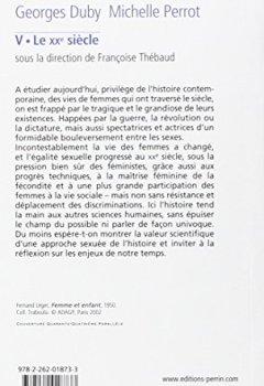 Livres Couvertures de Histoire des femmes en Occident, tome 5 : Le XXe siècle
