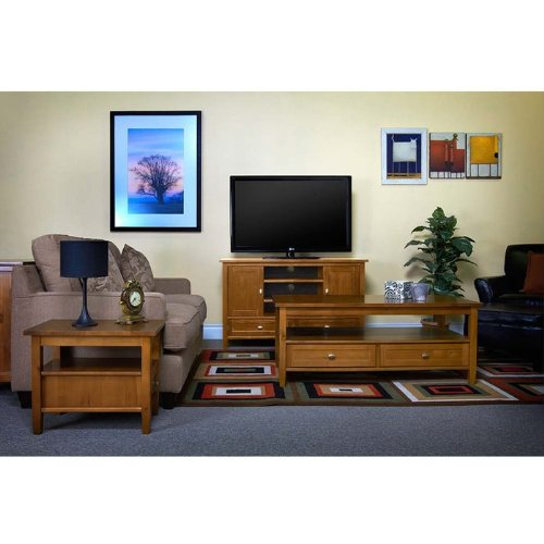 Image of Warm Shaker Collection TV Stand (AXWSH003)