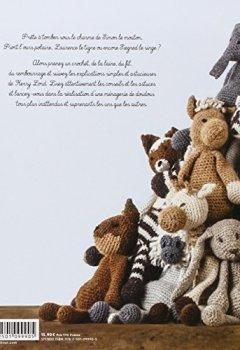 Livres Couvertures de La ménagerie des doudous - Plus de 40 patrons d'animaux en crochet à câliner tendrement