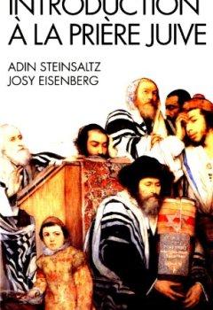 Livres Couvertures de Introduction à la prière juive