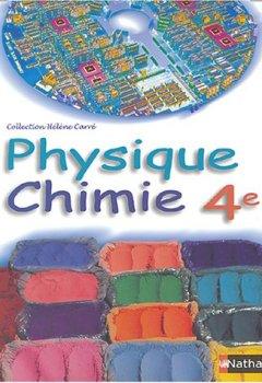 Livres Couvertures de Physique Chimie, 4e