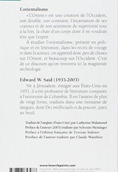 Livres Couvertures de L'orientalisme : L'Orient créé par l'Occident