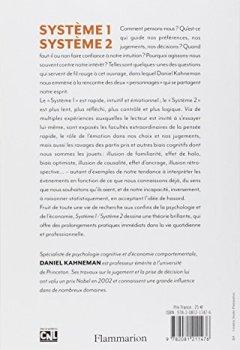 Livres Couvertures de Système 1 / Système 2 : Les deux vitesses de la pensée