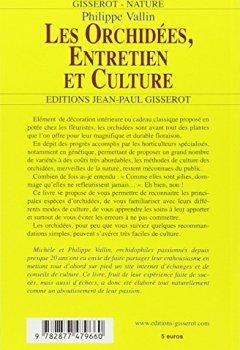 Livres Couvertures de Les Orchidees, Entretien et Culture