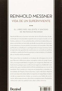 Portada del libro deReinhold Messner. Vida de un superviviente (Literatura (desnivel))