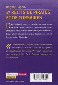 Livres Couvertures de 17 récits de pirates et de corsaires