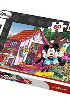 Livres Couvertures de Puzzle Disney Mickey Mouse & Friends - 60 pièces