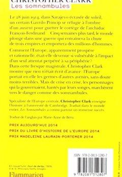 Livres Couvertures de Les somnambules : Eté 1914 : comment l'Europe a marché vers la guerre