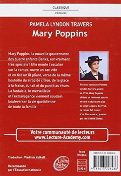 Livres Couvertures de Mary Poppins