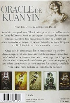 Livres Couvertures de Oracle de Kuan Yin : Bénédictions, conseils et révélations du Féminin Divin