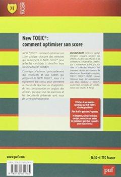 Livres Couvertures de New TOEIC : comment optimiser son score : Explications et exercices corrigés
