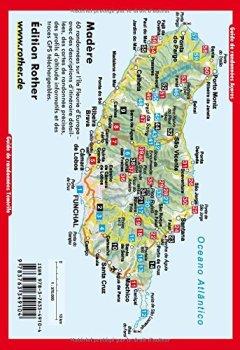 Livres Couvertures de Madère - Les 60 plus belles randonnées pédestres. Avec GPS tracks