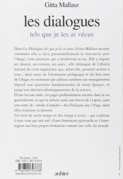 Livres Couvertures de Les dialogues tels que je les ai vécus