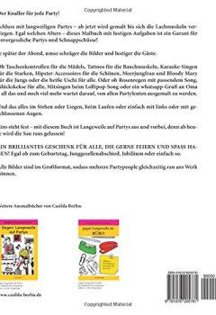 Buchdeckel von GEGEN LANGEWEILE auf Partys Band 2: Malbuch für Erwachsene