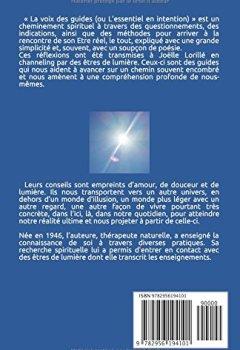 Livres Couvertures de LA VOIX DES GUIDES: L'essentiel en intention
