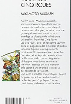 Livres Couvertures de Traité des cinq roues : Gorin-no-sho