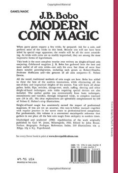Livres Couvertures de Modern Coin Magic