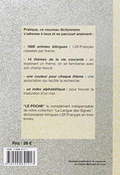 Livres Couvertures de Le Poche : Dictionnaire bilingue LSF / Français