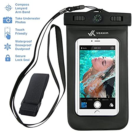 Did you have to skip many water sports activities just because you were too worried about your valuable belongings (phone, money, cards) getting wet? Well, you can do it all with our incredible Voxkin® waterproof bag which ensures that your adventu...