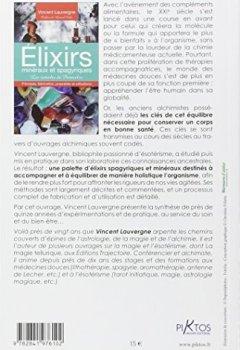 Livres Couvertures de Elixirs minéraux et spagyriques - Les remèdes de Paracelse