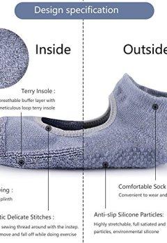 Livres Couvertures de Yoga/Pilates/Barre chaussettes antidérapant Skid pour barre Pilates Ballet 3 paires de chaussettes en coton Taille EU 36-44