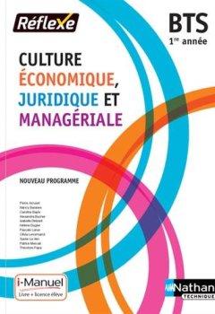 Livres Couvertures de Culture Économique, Juridique et Managériale - 1re année BTS GPME, SAM, NDRC