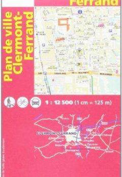 Livres Couvertures de 72515 PLAN DE CLERMONT-FERRAND  1/12.500