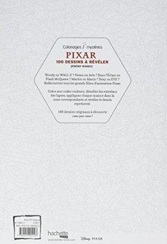 Livres Couvertures de Pixar, 100 dessins à révéler