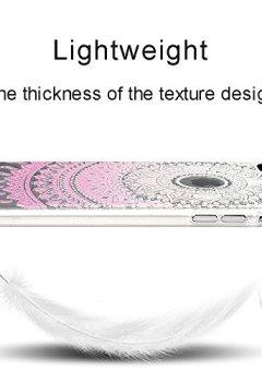 Livres Couvertures de MAXFE.CO 3x Coque iPhone 8 plus / iPhone 7 plus Silicone Transparent Etui en Gel TPU Housse Protection Extrêmement Mince Souple et Flexible Original Motif Case Cover Coque pour iPhone 8 plus / iPhone 7 plus (5.5 pouces) - Totem + Marbre + Gris