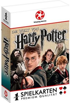 Abdeckungen Winning Moves WIN30515 - Playing Cards: Harry Potter