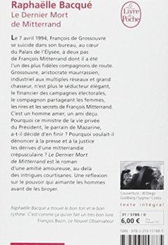 Livres Couvertures de Le dernier mort de mitterrand