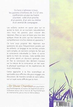 Livres Couvertures de Oser parler de la mort aux enfants: Approche scientifique et spirituelle