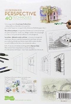 Livres Couvertures de Le dessin en perspective - 40 techniques pour apprendre et progresser