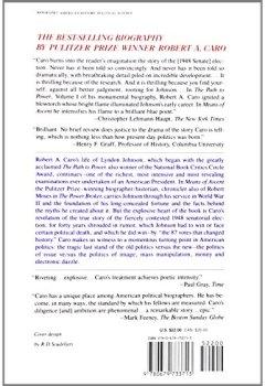 Buchdeckel von Means of Ascent: The Years of Lyndon Johnson II