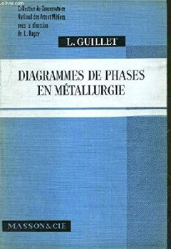 Livres Couvertures de DIAGRAMMES DE PHASES EN METALLURGIE / COLLECTION DU CONSERVATOIRE NATIONAL DES ARTS ET METIERS