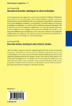 Livres Couvertures de Mouvement brownien, martingales et calcul stochastique