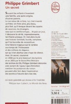 Livres Couvertures de Un secret - Grand prix des Lectrices de Elle 2005