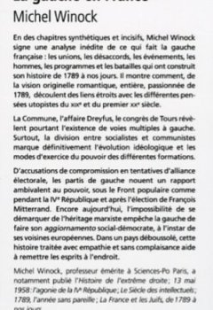 Livres Couvertures de La gauche en France