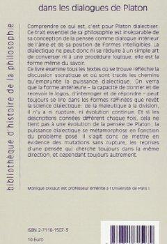Livres Couvertures de Métamorphoses de la dialectique dans les dialogues de Platon
