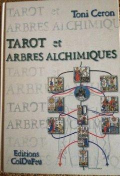 Livres Couvertures de Tarot et arbres alchimiques