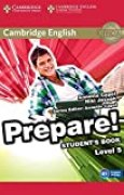 Cambridge English Prepare! Level 5 Student's Book.