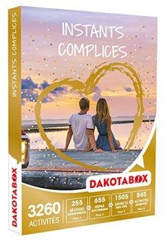 Livres Couvertures de DAKOTABOX - Coffret Cadeau - INSTANTS COMPLICES - activités pour partager un instant complice