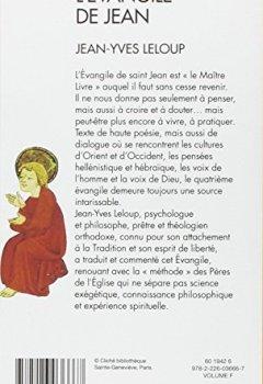 Livres Couvertures de L'évangile de Jean