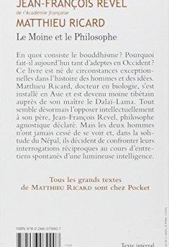 Livres Couvertures de Le moine et le philosophe - Un père et son fils débattent du sens de la vie