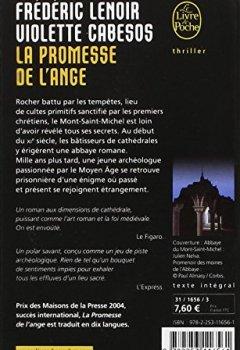 Livres Couvertures de La Promesse de l'ange - Prix Maison de la Presse 2004