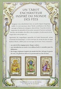 Livres Couvertures de Tarot Esotérique du monde des fées (78 cartes + Livret)