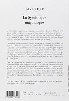 Livres Couvertures de La Symbolique maçonnique